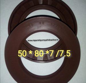 SC REPARATII POMPE HIDRAULICE SRL 50*80*7/7.5 50*80*7 50*80*7/7.5 50*80*7 50*80*7/7.5 50*80*7