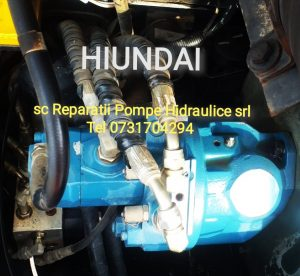 Hiundai rexroth pump